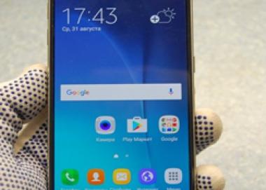 Экспертиза качества смартфона Samsung S7 SM-G930
