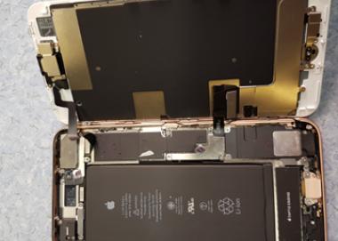 Экспертиза неисправности смартфона Apple iPhone 8