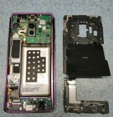 Экспертиза качества смартфона Samsung  S9+