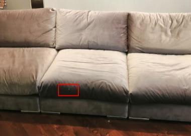 Судебная экспертиза дивана «Ричард»